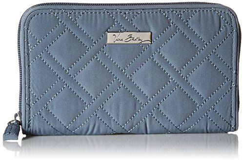 Vera Bradley Accordion Wallet, Charcoal, One Size