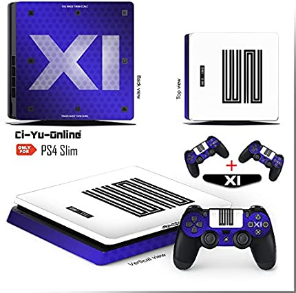 Amazon.com: Ci-Yu-Online VINYL SKIN [PS4 Slim] Air Jordan 11 Retro Shoe Box  Light Bar Whole Body VINYL SKIN STICKER DECAL COVER for PS4 Slim  Playstation 4 ...