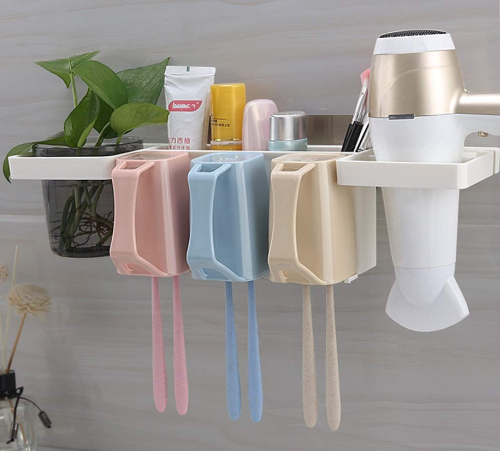 Amazon.com: RSQJ Toothbrush Cylinder Plastic Thickening Multi-Function Storage Box (Color : E): Home & Kitchen
