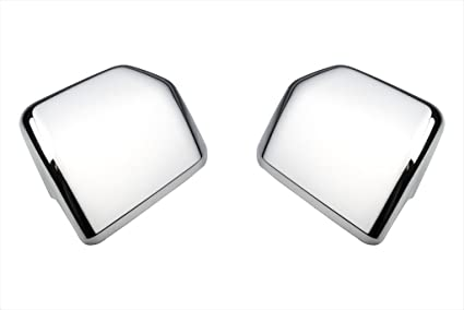 Ford F  Chrome Side View Mirror Cover Caps Passenger Driver
