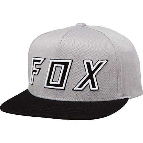 Fox Racing Youth Possessed Snapback Hat-Grey/Black