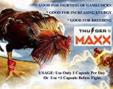 Thunder Max Vitamins Health Supplement Capsules