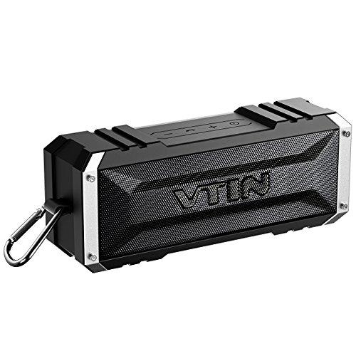 Vtin 20 Watt Waterproof Inpermeable Bluetooth Inalámbrico Altavoz/Bocina, Sonido Estéreo, Radiador Pasivo, Conexión AUX,...