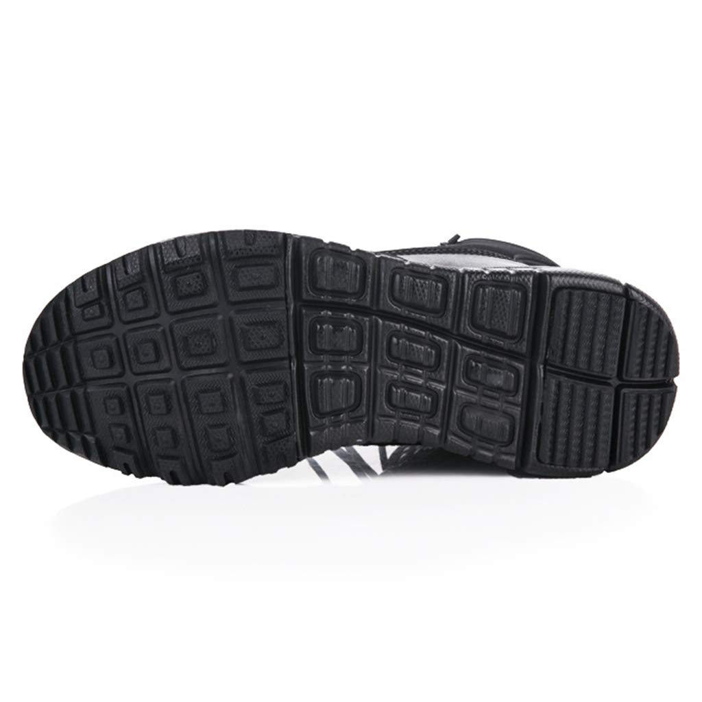Alaeo Herren Patrol Combat Stiefel High-Tops Schuhe Outdoor Military Army Desert Stiefel Wandern Jungle Work Utility Schuhe Gr/ö/ße 36-46