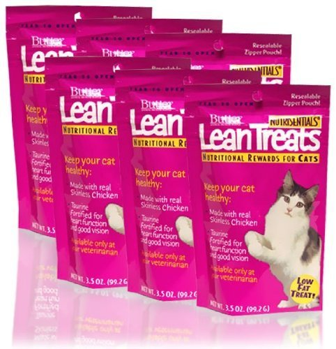 Cheap Butler Lean Treats Nutritional Rewards For Cats (6 Pack), 3.5 Oz/One Size