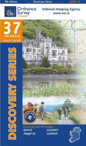 Irish Discovery Series 37. Mayo (SW, Galway 1 : 50 000
