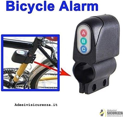 stickerslab – Alarma bicicleta sonoro Digital con Key Antirrobo ...