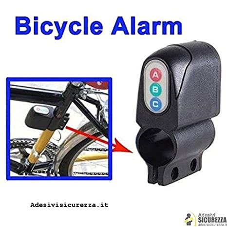 stickerslab – Alarma bicicleta sonoro Digital con Key Antirrobo ...