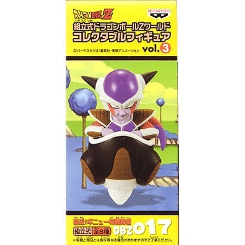 Sectional Dragon Ball Z World Collectible vol.3 approaching! Ginyu Rangers Hen freezer separately (japan import)