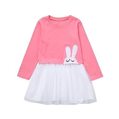 798ab46e19fec DAY8 Fille 1 à 5 Ans Vetement Robe De Princesse Fille Dentelle Chic Hiver  Robe Fille