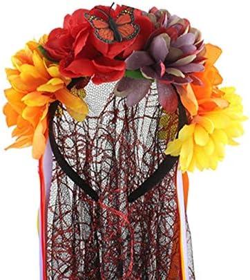 MSSJ Día de los Muertos Velo cadáver Novia Rosas Mexicano ...