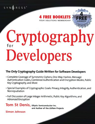 Download Cryptography for Developers Pdf