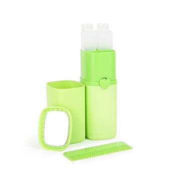 0cdc568af216 Amazon.com: Fengkuo Toothbrush Travel Container, Mug, Creative ...