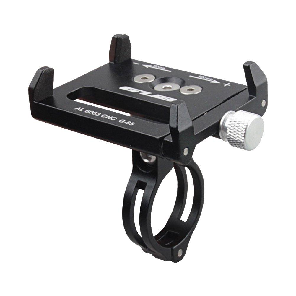 VORCOOL Soporte del Teléfono para Bicicleta Motocicleta Universal de Aleación para Móvil GPS Pixel Dispositivos Electrónicos (Negro)