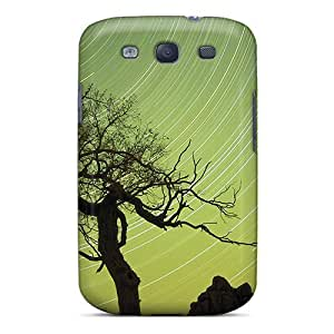 Fashionable FolrYhp6005XKEPX Galaxy S3 Case Cover For Green Sky Swirl Protective Case