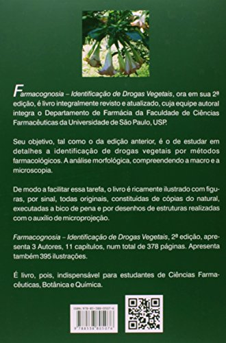Farmacognosia. Identificação de Drogas Vegetais