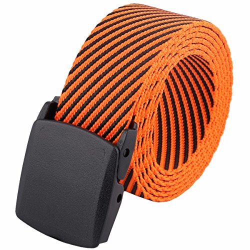 Style Nylon Pistol Belt - squaregarden Men's Nylon Webbing Military Style Tactical Duty Belt
