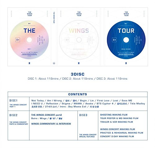 Bts 2017 Bts Live Trilogy Episode Iii The Wings Tour In Seoul