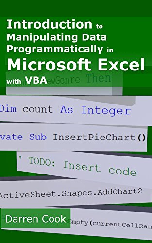 Introduction To Manipulating Data Programmatically In Microsoft Excel With VBA Pdf