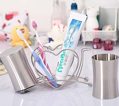 Orange ? Bath Accessory Set Toothbrush Holder Gargle Cup ...