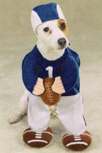 Football Fever X-SMALL Dog Puppy Halloween Costume ()