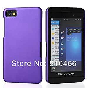 ModernGut FREE SHIPPING New HARD RUBBERIZED RUBBER COATING BACK CASE COVER FOR BLACKBERRY Z