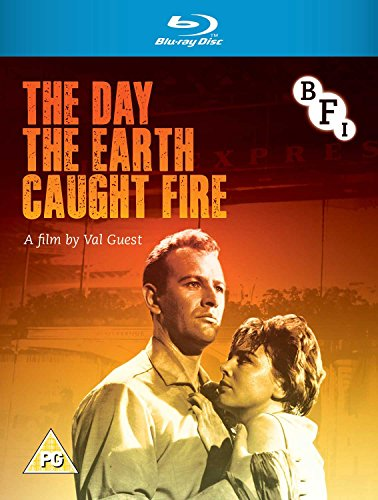 The Day the Earth Caught Fire (1961) ( The Day the Sky Caught Fire ) [ NON-USA FORMAT, Blu-Ray, Reg.B Import - United Kingdom ] (World Imports Austin)