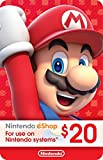 Kyпить eCash - Nintendo eShop Gift Card $20 - Switch / Wii U / 3DS [Digital Code] на Amazon.com