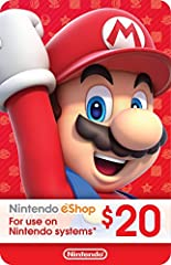 Nintendo eShop POSA Cards Updated Redemption Instructions and Terms of Use: Redemption Instructions Nintendo eShop Digital Cards are redeemable only through the Nintendo eShop on the Nintendo Switch, Wii U, and Nintendo 3DS family of systems....