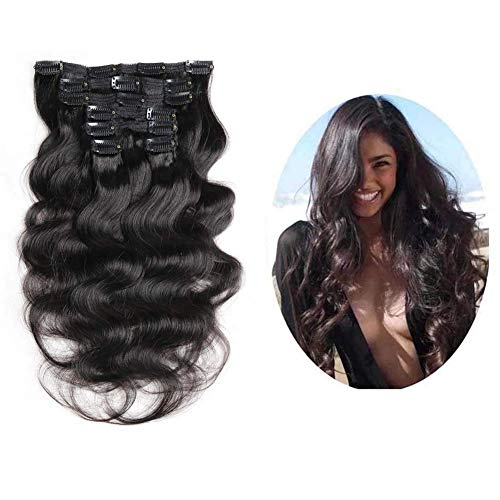 Urbeauty Natural Black Extensions Triple