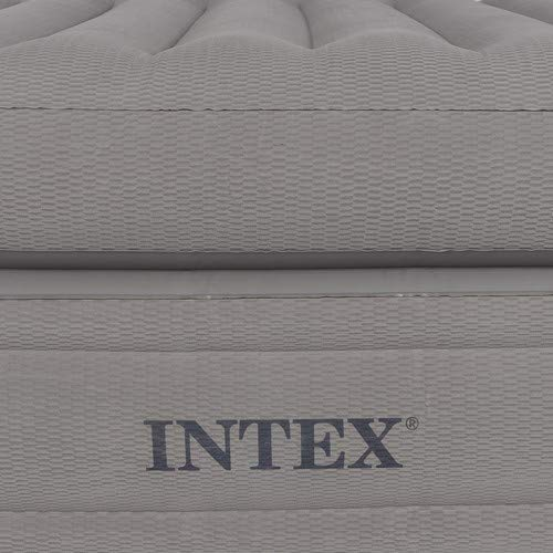 Intex Prime Comfort Elevated Airbed Queen 64444  1 Person Luftbett Luftmatratze