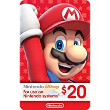 eCash - Nintendo eShop Gift Card $20 - Switch / Wii U / 3DS [Digital Code]