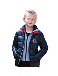 Leo&Lily Boys' Winter Padded Puffer Down Jackets Outwear Coats