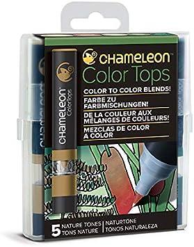 5 Color Tops; Puntas de mezcla Chameleon; Tonos Pastel Chameleon Art Products