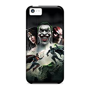 Cute Appearance Cover/tpu BMuQmFL1052VXPjh Injustice Gods Among Us Case For Iphone 5c