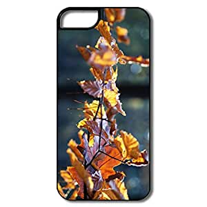 Beech Rust Colored Leaves,Your Own Funny Cover For IPhone 5s