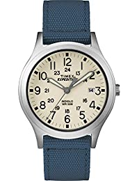 Unisex TW4B13800 Expedition Scout 36 Blue/Natural Nylon Strap Watch
