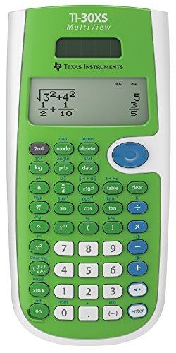 Texas Instruments TI30XSMVLIMEGRN Calculator