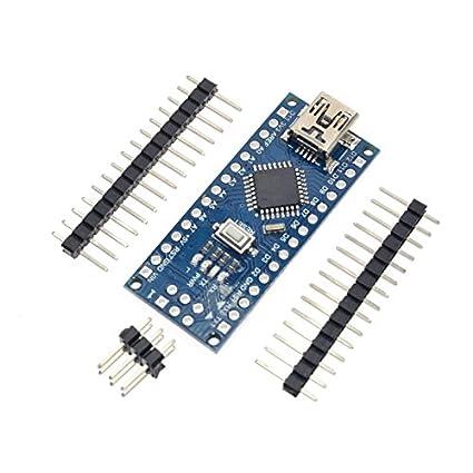 1PCS Promotion Funduino Nano 3.0 Atmega328 Controller Compatible Board for Arduino Module PCB Development Board withou Nano-han