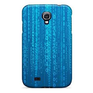 High-end Case Cover Protector For Galaxy S4(matrix Blue)