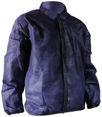 Lab Jacket, Polypropylene, Blue, 5XL, PK50