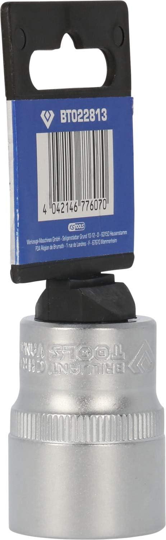 BRILLIANT TOOLS Brilliant BT022813 Cl/é /à Douille 1//2 38 mm 22 mm Bleu//Noir