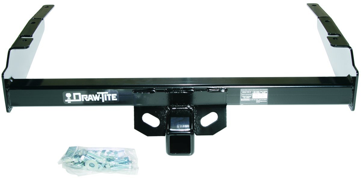 DRAW TITE 41004 Max-E Loader Hitch with 2 Square Receiver Tube Opening Draw-Tite
