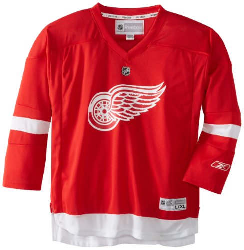 fan products of NHL Detroit Red Wings Replica Youth Jersey, Red, Large/X-Large