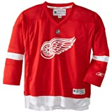 NHL Detroit Red Wings Team Color Replica Jersey Youth