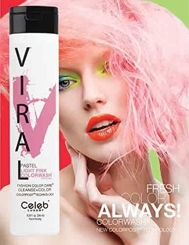 GEM LITES Viral Pastel Light Color Wash, Pink