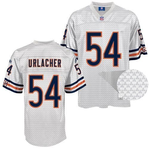 the best attitude b6460 9db56 Amazon.com: Brian Urlacher Chicago Bears Fashion White ...