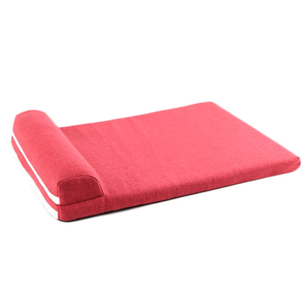 B S B S Dog mat cat Kennel mat pet Cotton pad Blanket Blanket Quilt bite Resistant Winter Four Seasons Supplies (color   B, Size   S)