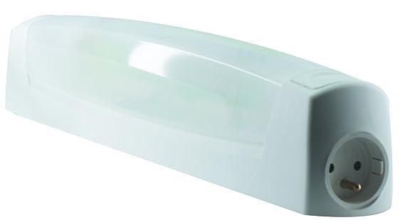 L Ébénoïd ebe applique avec interrupteur prise de courant