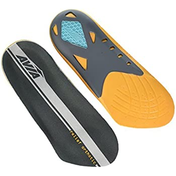 4b57ba42d2 Avia Pain Relief Plantar Fasciitis Orthotic Insole For Men,1 Pair -Size 8-